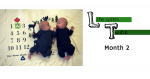 Life With Twins: Month 2
