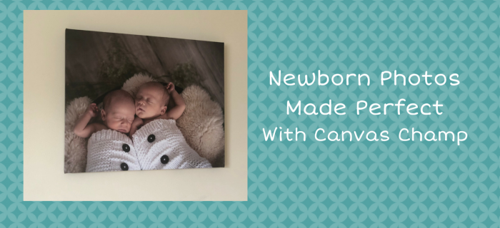 Newborn Photos Made Perfect with Canvas Champ {+ Giveaway}