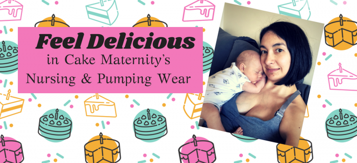Feel Delicious in Cake Maternity's Nursing & Pumping Wear