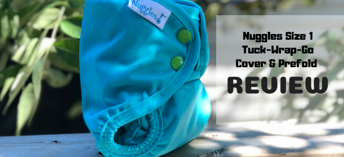 Nuggles Size 1 Tuck-Wrap-Go Cover & Prefold Review