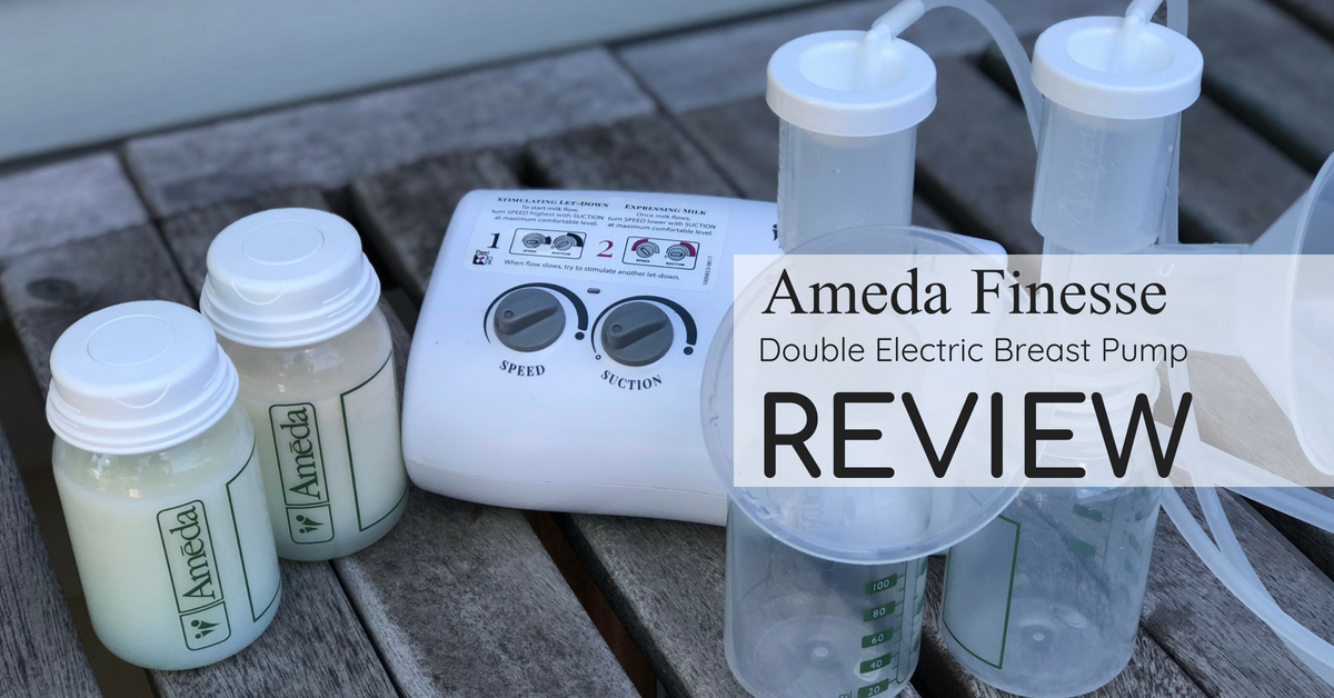 Ameda Finesse Double Electric Breast Pump Review
