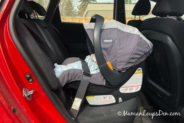 Chicco Keyfit 30 Infant Car Seat Review, Baseless Infant Car Seat