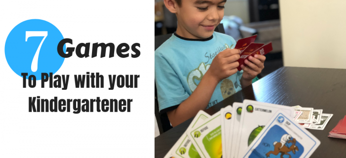 7 Games to Play with Your Kindergartener