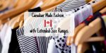 Canadian-Made Fashion with Extended Size Ranges