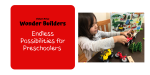 Endless Possibilities for Preschoolers with the NEW Fisher-Price® Wonder Builders™ design system