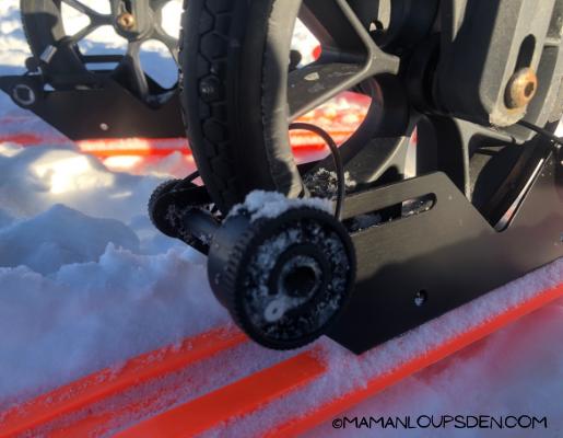 wheel skis