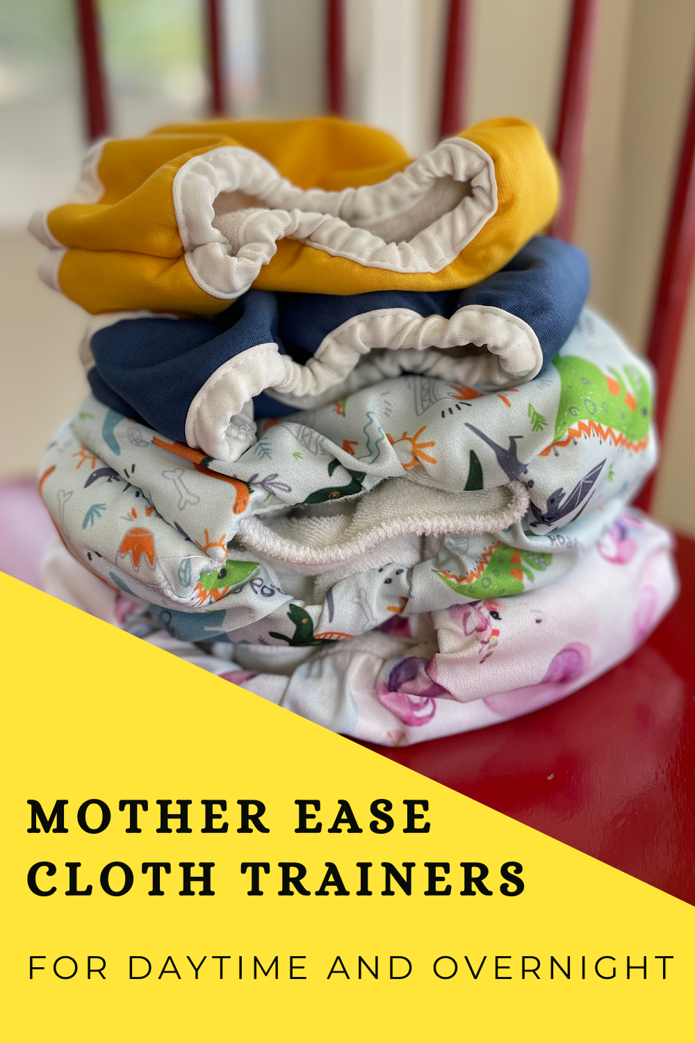 Mother-ease cloth training pants